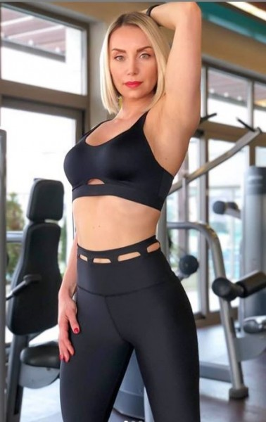 Lavola High Waisted Sport Leggings mit besonderes Taille